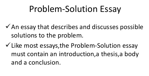 Problem Solution Essay Topics For College  Essayagentscom Problem Solution Essay